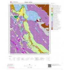 N27a2 Paftası 1/25.000 Ölçekli Vektör Jeoloji Haritası