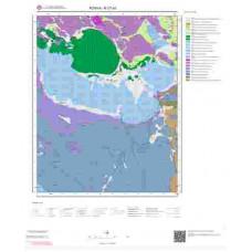 N27a3 Paftası 1/25.000 Ölçekli Vektör Jeoloji Haritası