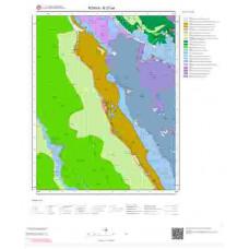 N27a4 Paftası 1/25.000 Ölçekli Vektör Jeoloji Haritası