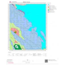 N27b3 Paftası 1/25.000 Ölçekli Vektör Jeoloji Haritası