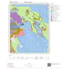 N27b4 Paftası 1/25.000 Ölçekli Vektör Jeoloji Haritası