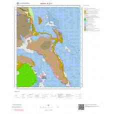 N27c1 Paftası 1/25.000 Ölçekli Vektör Jeoloji Haritası
