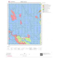 N27c3 Paftası 1/25.000 Ölçekli Vektör Jeoloji Haritası