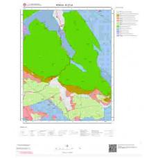 N27c4 Paftası 1/25.000 Ölçekli Vektör Jeoloji Haritası