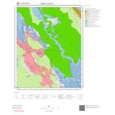 N27d1 Paftası 1/25.000 Ölçekli Vektör Jeoloji Haritası