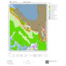 N27d2 Paftası 1/25.000 Ölçekli Vektör Jeoloji Haritası