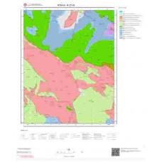 N27d3 Paftası 1/25.000 Ölçekli Vektör Jeoloji Haritası