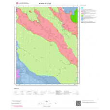 N27d4 Paftası 1/25.000 Ölçekli Vektör Jeoloji Haritası