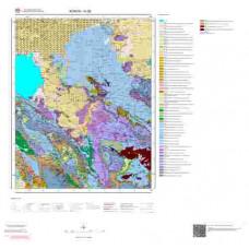 N28 Paftası 1/100.000 Ölçekli Vektör Jeoloji Haritası