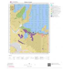 N28a3 Paftası 1/25.000 Ölçekli Vektör Jeoloji Haritası