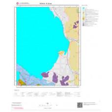 N28a4 Paftası 1/25.000 Ölçekli Vektör Jeoloji Haritası