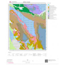 N28d4 Paftası 1/25.000 Ölçekli Vektör Jeoloji Haritası