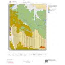 N29c1 Paftası 1/25.000 Ölçekli Vektör Jeoloji Haritası