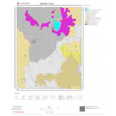 N30a1 Paftası 1/25.000 Ölçekli Vektör Jeoloji Haritası