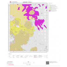 N30a2 Paftası 1/25.000 Ölçekli Vektör Jeoloji Haritası