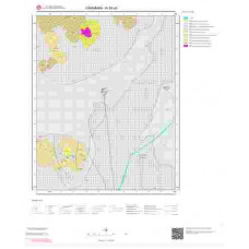 N30a3 Paftası 1/25.000 Ölçekli Vektör Jeoloji Haritası