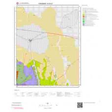 N30d1 Paftası 1/25.000 Ölçekli Vektör Jeoloji Haritası