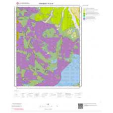 N30d4 Paftası 1/25.000 Ölçekli Vektör Jeoloji Haritası