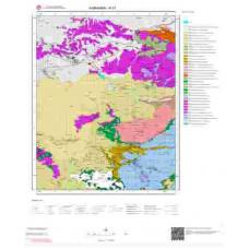 N 31 Paftası 1/100.000 ölçekli Jeoloji Haritası