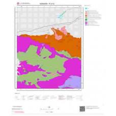 N 31-b2 Paftası 1/25.000 ölçekli Jeoloji Haritası