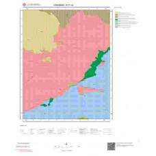 N 31-c2 Paftası 1/25.000 ölçekli Jeoloji Haritası