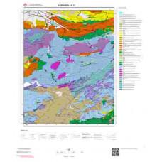 N32 Paftası 1/100.000 Ölçekli Vektör Jeoloji Haritası