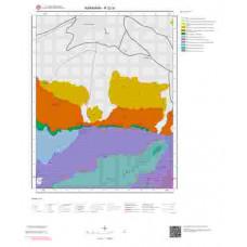 N 32-a1 Paftası 1/25.000 ölçekli Jeoloji Haritası