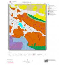 N 32-a2 Paftası 1/25.000 ölçekli Jeoloji Haritası