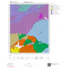 N32a4 Paftası 1/25.000 Ölçekli Vektör Jeoloji Haritası