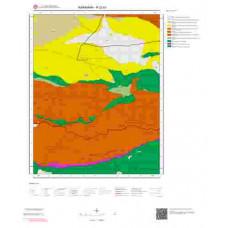 N32b1 Paftası 1/25.000 Ölçekli Vektör Jeoloji Haritası