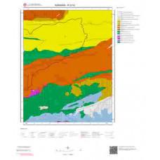 N32b2 Paftası 1/25.000 Ölçekli Vektör Jeoloji Haritası