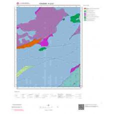 N32b3 Paftası 1/25.000 Ölçekli Vektör Jeoloji Haritası
