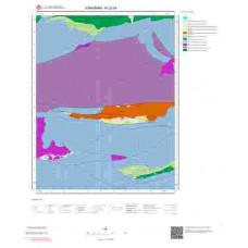 N32b4 Paftası 1/25.000 Ölçekli Vektör Jeoloji Haritası