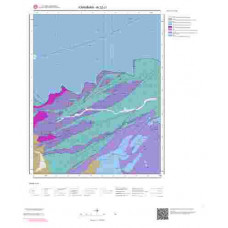 N32c1 Paftası 1/25.000 Ölçekli Vektör Jeoloji Haritası