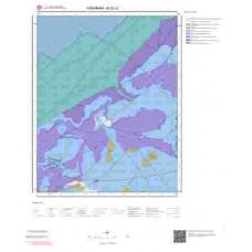 N32c2 Paftası 1/25.000 Ölçekli Vektör Jeoloji Haritası