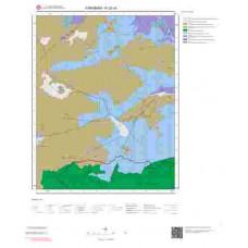 N32c4 Paftası 1/25.000 Ölçekli Vektör Jeoloji Haritası