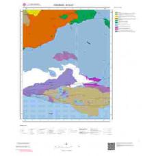 N32d1 Paftası 1/25.000 Ölçekli Vektör Jeoloji Haritası