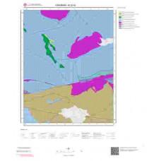 N32d2 Paftası 1/25.000 Ölçekli Vektör Jeoloji Haritası
