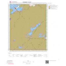 N32d3 Paftası 1/25.000 Ölçekli Vektör Jeoloji Haritası