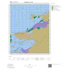 N32d4 Paftası 1/25.000 Ölçekli Vektör Jeoloji Haritası