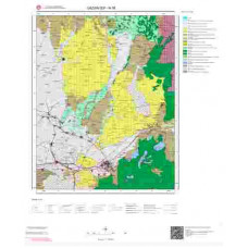 N 36 Paftası 1/100.000 ölçekli Jeoloji Haritası