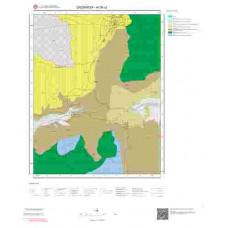 N 36-c2 Paftası 1/25.000 ölçekli Jeoloji Haritası