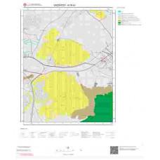 N 36-d3 Paftası 1/25.000 ölçekli Jeoloji Haritası
