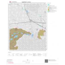 N 36-d4 Paftası 1/25.000 ölçekli Jeoloji Haritası