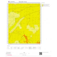 N40a4 Paftası 1/25.000 Ölçekli Vektör Jeoloji Haritası