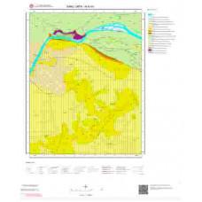 N40b1 Paftası 1/25.000 Ölçekli Vektör Jeoloji Haritası