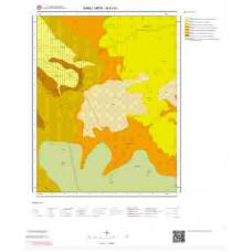 N41b1 Paftası 1/25.000 Ölçekli Vektör Jeoloji Haritası