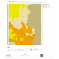 N41b2 Paftası 1/25.000 Ölçekli Vektör Jeoloji Haritası