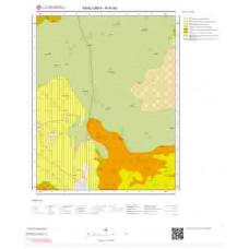 N41b4 Paftası 1/25.000 Ölçekli Vektör Jeoloji Haritası