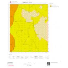 N41d1 Paftası 1/25.000 Ölçekli Vektör Jeoloji Haritası